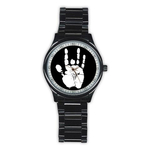 Casual Black Watch : Jerry Garcia Handprint