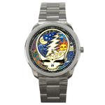 Casual Sport Watch : Grateful Dead - Steal Your Face - Cosmic
