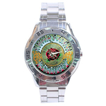 Chrome Dial Watch : Grateful Dead - American Beauty