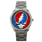 Casual Sport Watch : Grateful Dead - Steal Your Face - Classic Stealie