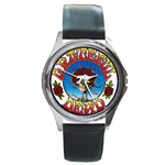 Silver-Tone Watch : Grateful Dead - Skull & Roses