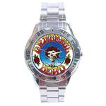 Chrome Dial Watch : Grateful Dead - Skull & Roses
