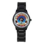 Casual Black Watch : Grateful Dead - Skull & Roses