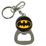Bottle Opener Keychain : Batman Shield