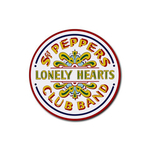 Coasters (4 Pack - Round) : Beatles - Sgt. Peppers Lonely Hearts Club Band