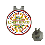 Golf Hat Clip with Ball Marker : Beatles - Sgt. Pepper's Lonely Hearts Club Band