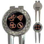 Golf Divot Repair Tool : Led Zeppelin Symbols