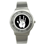 Roman Dial Watch : Jerry Garcia Handprint
