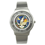 Roman Dial Watch : Grateful Dead - Steal Your Face - Cosmic