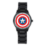 Casual Black Watch : Captain America Shield
