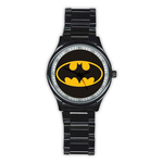 Casual Black Watch : Batman Shield