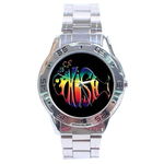 Chrome Dial Watch : Phish