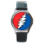 Silver-Tone Watch : Grateful Dead - Bolt
