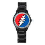 Casual Black Watch : Grateful Dead - Bolt