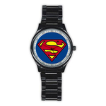 Casual Black Watch : Superman Shield