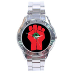 Chrome Dial Watch : Gonzo Fist - Hunter S. Thompson