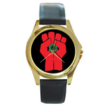 Gold-Tone Watch : Gonzo Fist - Hunter S. Thompson