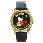 Gold-Tone Watch : Woodstock - 3 Days of Peace and Music