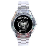 Chrome Dial Watch : Motorhead
