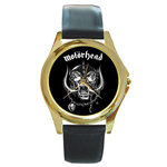 Gold-Tone Watch : Motorhead