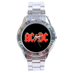 Chrome Dial Watch : AC/DC