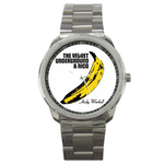 Casual Sport Watch : Velvet Underground & Nico - Banana - Andy Warhol
