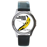 Silver-Tone Watch : Velvet Underground & Nico - Banana - Andy Warhol