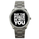 Casual Sport Watch : May The Force Be With You - Star Wars