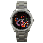 Casual Sport Watch : Wassily Kandinsky - Gravitation
