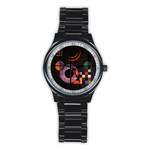 Casual Black Watch : Wassily Kandinsky - Gravitation
