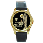 Gold-Tone Watch : Led Zeppelin IV Symbols - Hermit