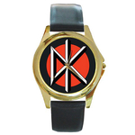 Gold-Tone Watch : Dead Kennedys