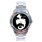 Chrome Dial Watch : Frank Zappa