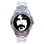 Chrome Dial Watch : Frank Zappa