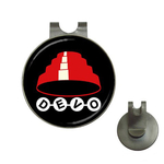 Golf Hat Clip with Ball Marker : Devo
