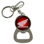 Bottle Opener Keychain : Honda mc