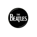Golf Ball Marker : The Beatles (black-white)