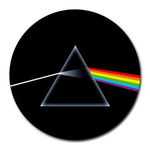Mousepad (Round) : Pink Floyd - Dark Side of the Moon