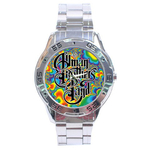 Chrome Dial Watch : Allman Brothers Band - Fractal
