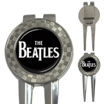 Golf Divot Repair Tool : The Beatles (black-white)
