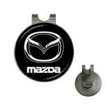Golf Hat Clip with Ball Marker : Mazda