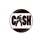 Golf Ball Marker : Johnny Cash