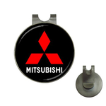 Golf Hat Clip with Ball Marker : Mitsubishi