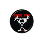 Golf Ball Marker : Pearl Jam - Stickman - Alive (black-white)