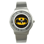 Roman Dial Watch : Batman Shield