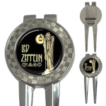 Golf Divot Repair Tool : Led Zeppelin IV Symbols - Hermit