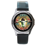 Silver-Tone Watch : Bob Marley - Natural Mystic