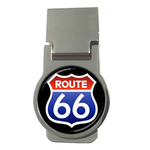 Money Clip (Round) : Route 66