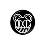 Golf Ball Marker : Radiohead