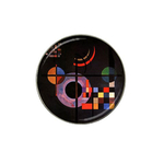 Golf Ball Marker : Wassily Kandinsky - Gravitation